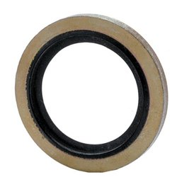 Bonded rubber seal