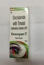 Dorzolamide Timolol Eye Drops