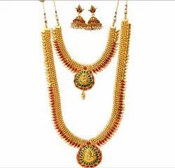 NK5770 Laxmi Pendant Jewellery Set
