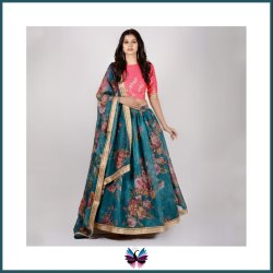 Latest Panchhi Printed Lehenga Choli