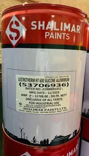 Shalimar Paints Shalimar Lustotherm Ht 600 Aluminium Paint Temp Upto 600 C Wholesale Trader From Mumbai