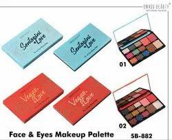 Swiss Beauty Face & Eyes Make up Palette
