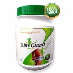 Ayurvedic Slim Guard Weight Loss Capsule, Packaging Size: 120 Capsules, Packaging Type: Plastic Jar