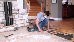 Commercial Building Wonderfloor Wooden Flooring Service, Taminadu