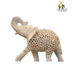 Soap Stone Elephant Statue