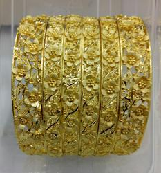 Gold Plated Gold Forming IMITATION BANGLES