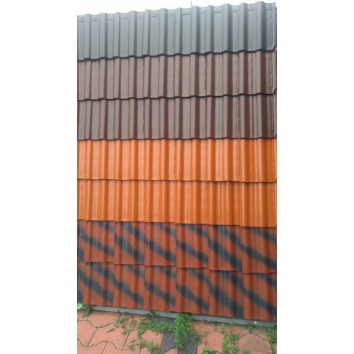 Steel Stainless Steel Colored Roofing Sheet Rs 25