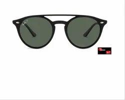 Ray Ban RB4279 Medium Black Green Women Polarized Sunglasses