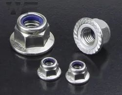 Stainless steel 304 Nylock Flange Nut