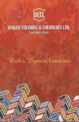 Unilex Pigment Emulsions for Textile Printing and Dyeing
