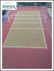 Interlock Rubber Tiles For Courts