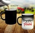 Printed Black Matte Magic Mug 11Oz