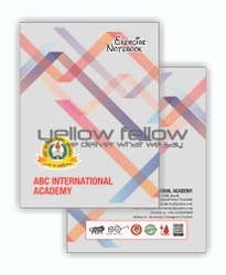 YellowFellow Perfect Bound Writing Notebook Customised