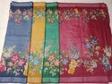 Printed Chanderi Silk Saree