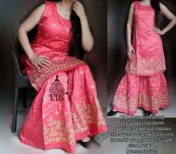669922782b Ladies Silk Suit in Ludhiana, लेडीज सिल्क सूट ...