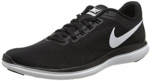 Black Men Nike Flex 2016 Running Shoes