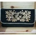 Gotapatti  Zardosi Hand Embroidery Clutch Wedding Bag Trendy Fashion Wallet Purse