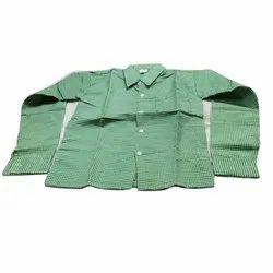 Klassic Kohinoor Shirting Fabric Full Sleeves School Uniform Shirt, Size: 22 to 40