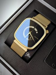 Golden Calvin Klein Watch