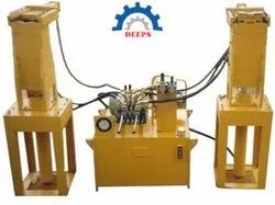 HYDRAULIC INTERLOCK BLOCK MAKING MACHINE