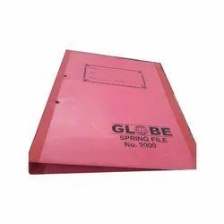 Cardboard A4 Globe Spring File, Packaging Type: Box, Shape: Rectangle