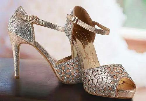 Ladies Footwear Swarovski Laser Design