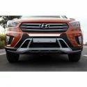 Abs Plastic Black Hyundai Creta Front And Rear Bumper