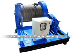15 Ton Pulling Winch Machine