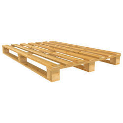 Rectangular Hard Wood Heat Treated Wooden Pallet