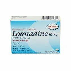 10 Mg Loratadine Tablets