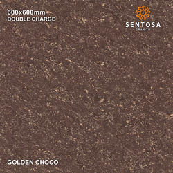 Multicolour Golden Choco Double Charge Vitrified Tiles