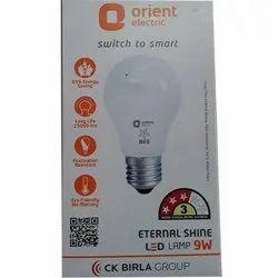 Round 9 W 9W Orient LED Bulb