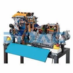 Hybrid Cut Away Engine