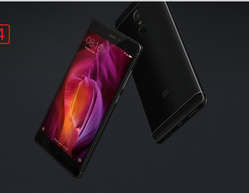 Black And Rose Gold Redmi Note 4 Mobile Phones