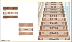 Digital Printed Vitrified Step & Riser Tiles