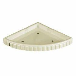 Prayag Cream 16 Inch Corner Shelf