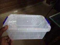 Transparent Plastic Container Box, Capacity: 1 Kg, for Pharmaceutical