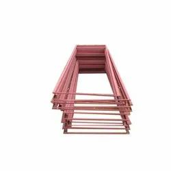 1 Code Red Oxide And Putti MS Pressed Door Frames