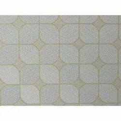 Coated 7 MM Designer PVC Gypsum Square Tiles, Features: Water Proof
