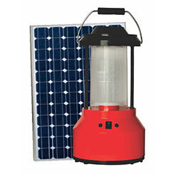 SUNFLARE Solar LED Lantern 5W, For Indoor, 10W