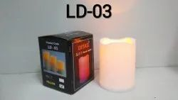 LD-03 LED Candle Yellow Light 1 Pc