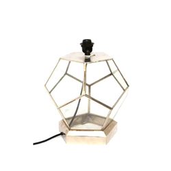 CAI Brass And Glass Table Lamp