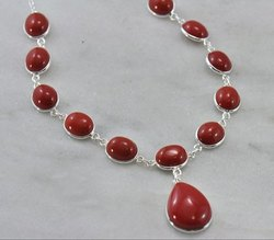 Red Coral Necklaces Jewelry