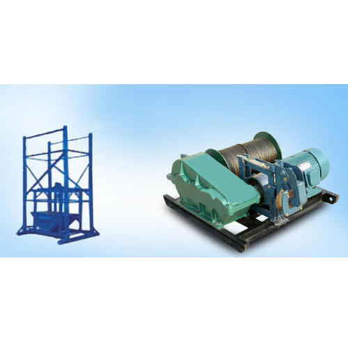 Builder Hoist Machine - Builder Hoist Winch Manufacturer from Ghaziabad