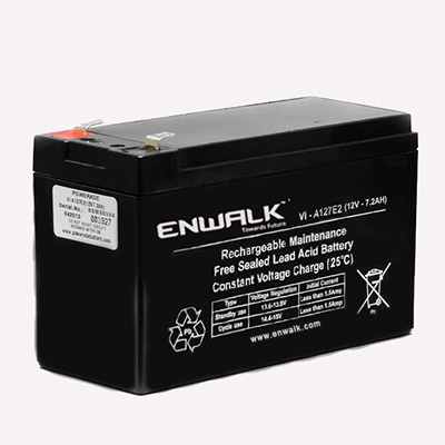 enwalk lead acid battery for ups voltage 12 v rs 750. Black Bedroom Furniture Sets. Home Design Ideas