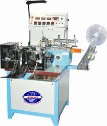 Automatic Garment Label Cutting & Folding Machine
