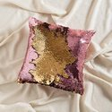 Stylish Sequin Mermaid Throw Pillow
