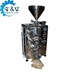 Chutney Pouch Packaging Machine