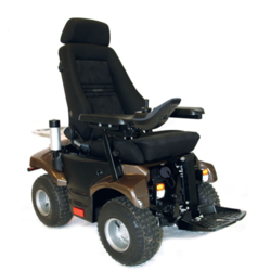 P4 Crossover Electronic Wheelchair
