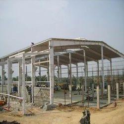 Mild Steel Prefab Pre Engineered Building, Thickness: 2-10 Mm